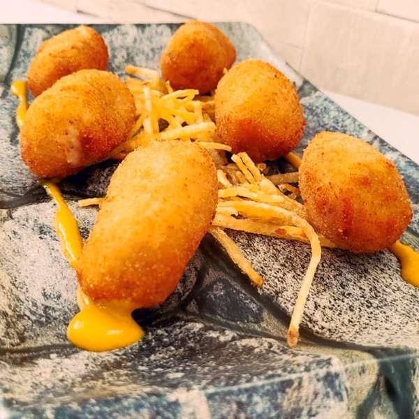 Croquetas de Jamón - La Burguesita Restaurante para niños en Boadilla del Monte