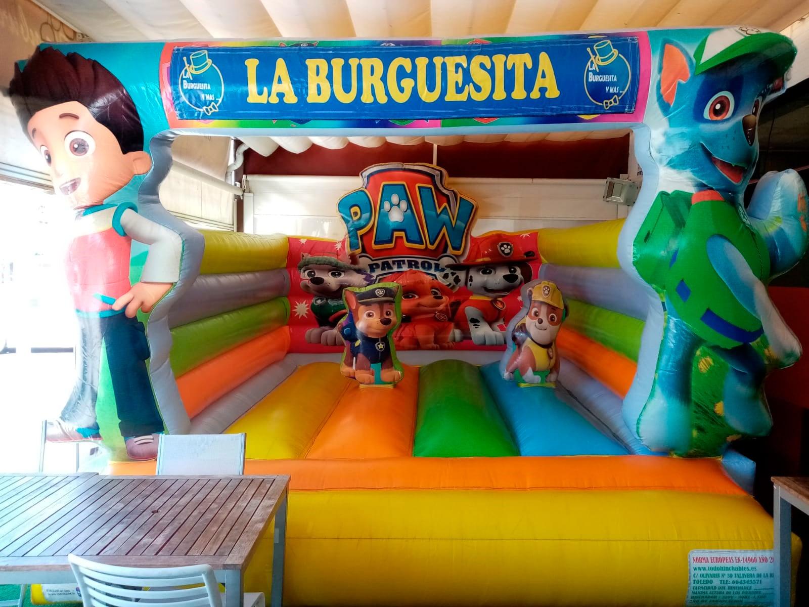 Castillo-Hinchable-La-Burguesita Restaurante familiar